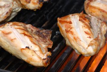 Bone in, Skin on Chicken Breast