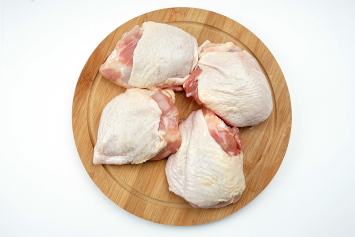 Bone-in and Skin-on Chicken Thigh
