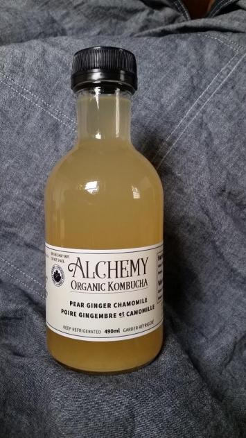 Kombucha - Pear Ginger Chamomile