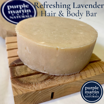 Refreshing Lavender Hair & Body Bar