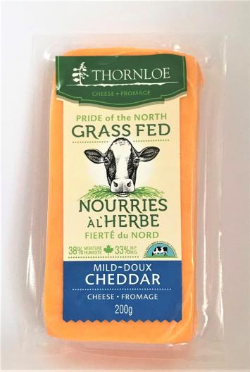 Thornloe Grassfed Mild Cheddar Cheese