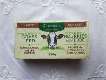 Thornloe Grassfed Butter - Unsalted
