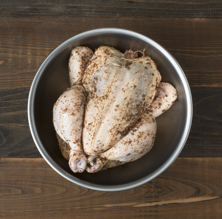 Dried Lime and Pepper Roast Chicken