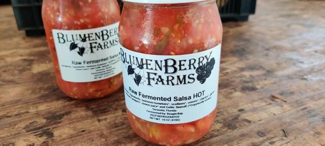 Fermented Heirloom Salsa HOT