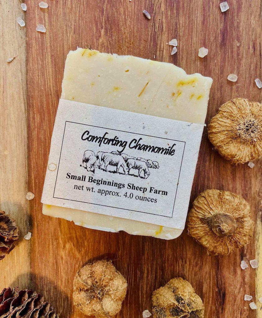 Soap: Raw Sheep's Milk - Calming Chamomile