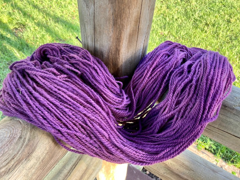 Yarn Skein - Florida Cracker - Colorway: The Artist Formerly Known as Prince