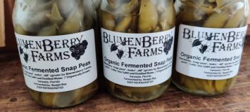 Fermented Snap Peas