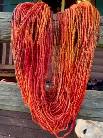 Yarn Skein - Florida Cracker - Colorway: Autumn Equinox