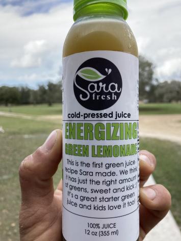 Energizing Green Lemonade Juice