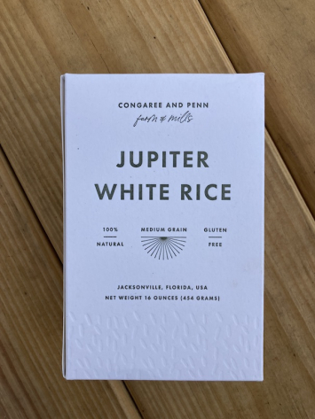 Rice, Jupiter White