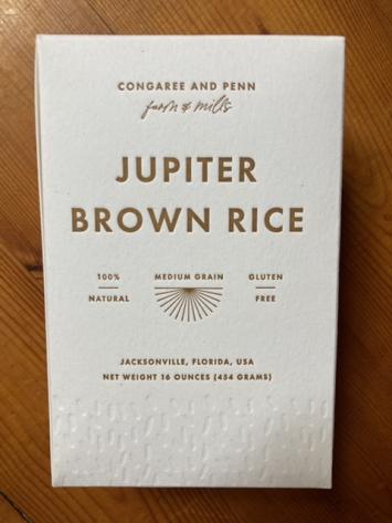 Rice, Jupiter Brown