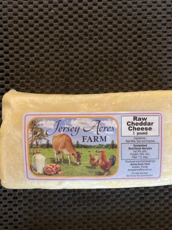 Raw Cheese - Cheddar