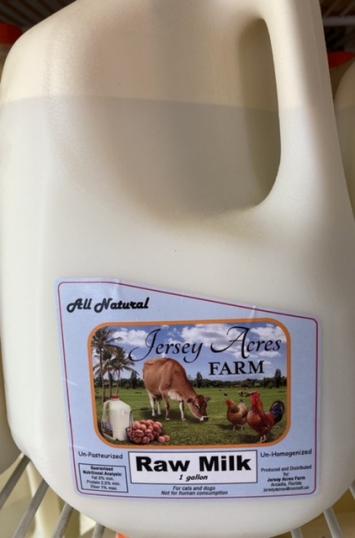 Raw Milk - 1 Gallon