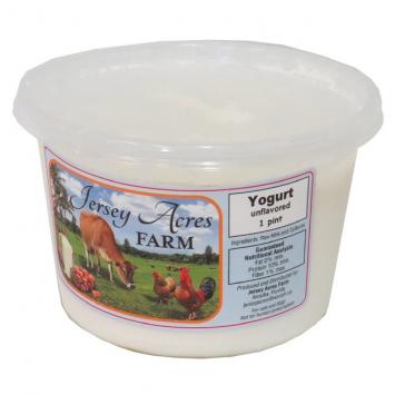 Raw Yogurt - 1 Pint