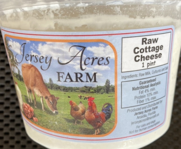 Raw Cottage Cheese - 1 Pint