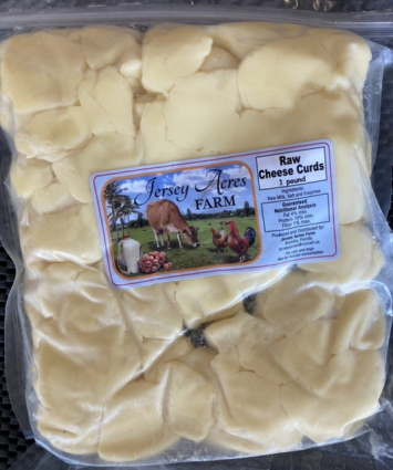Raw Cheese Curds - 1 Pound