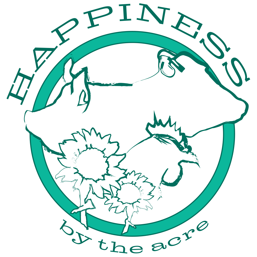 Happiness By The Acre Logo