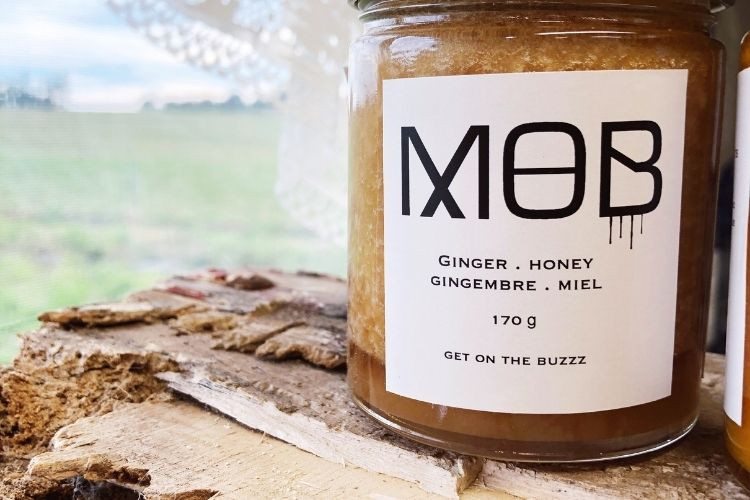 SALE Ginger Honey