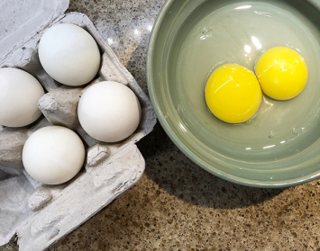 Duck Eggs, 1/2 Dozen Every Other Week - 3 Months