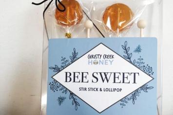 Bee Sweet Lollipops - Christy Creek Honey