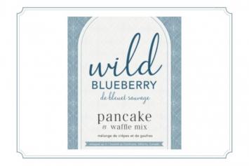 Wild Blueberry Waffle Mix