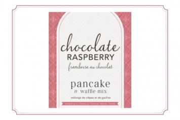 Chocolate Raspberry Waffle Mix