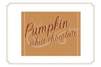 Pumpkin White Chocolate Waffle Mix