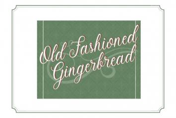 Pancake Mix Old Fashioned Gingerbread
