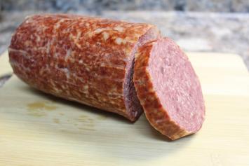 Beef Summer Sausage / Spicy Garlic / Small Diameter