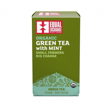Organic Green Tea with Mint