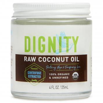 Dignity Raw Coconut Oil 4 oz