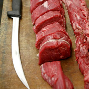 STEAK, HIGHLAND BEEF: Tenderloin
