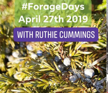 FORAGE DAYS EVENT: SPRING EDIBLES FORAGE TOUR- April 27th 2019 12-4pm  $40.00 +HST