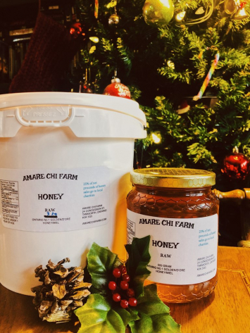 Honey: Raw Unpasteurized 1KG JAR