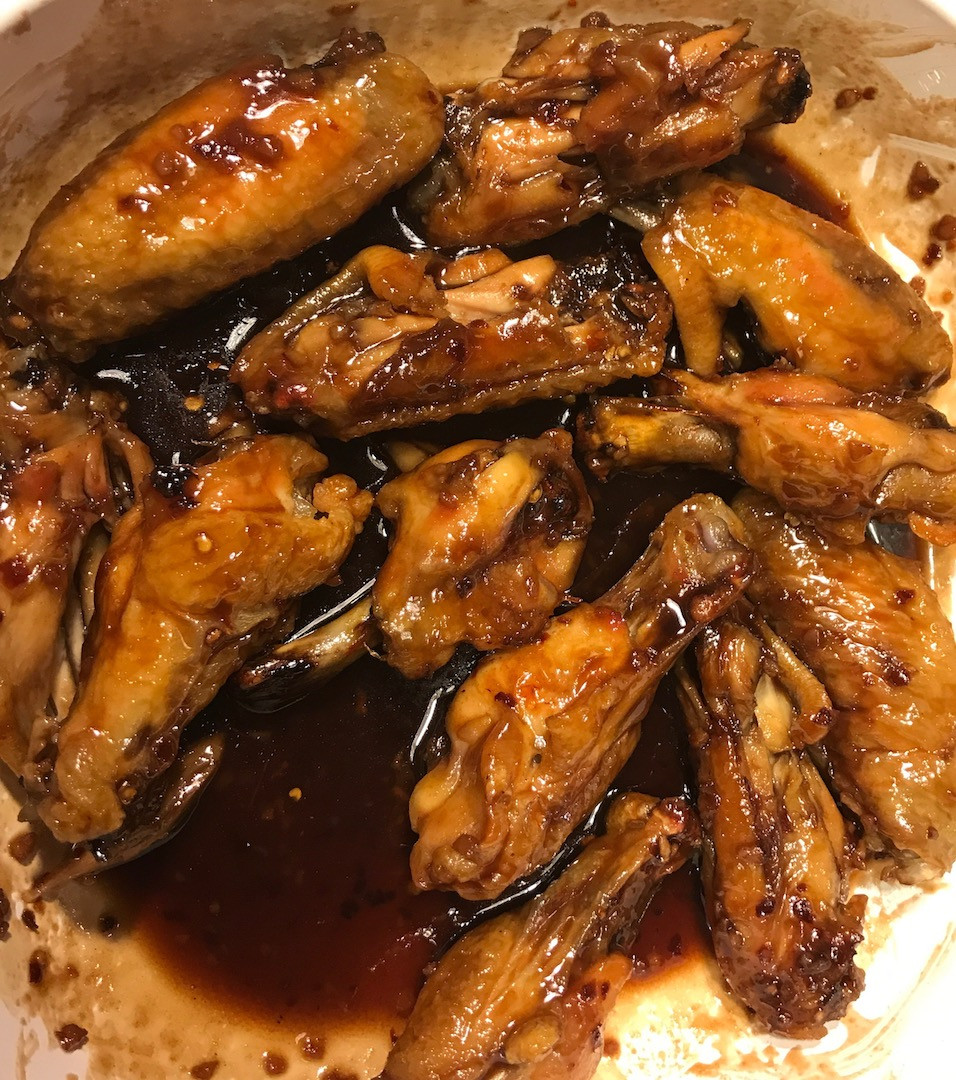 Chicken Wings- Asian Spicy Sweet