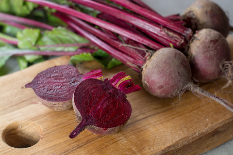Pound of Topped Red Beets