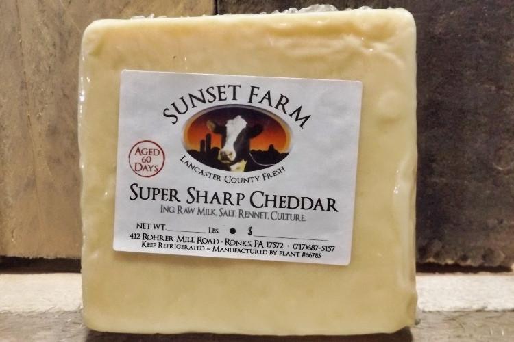 Sunset Farm Super Sharp Cheddar