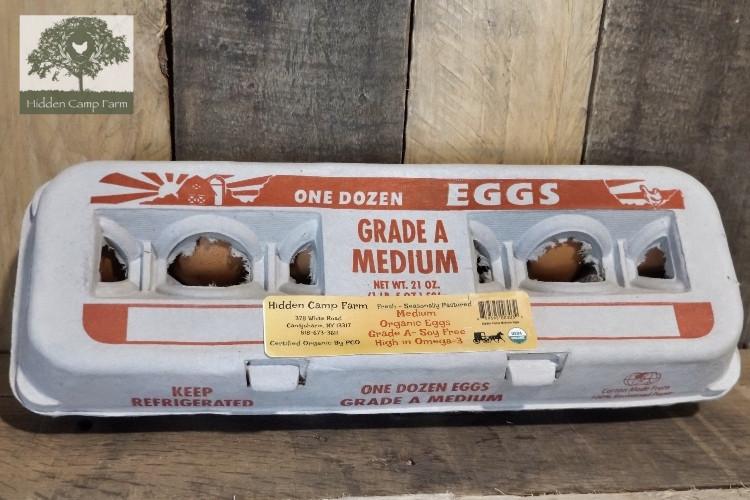 Organic Soy-free Medium Eggs