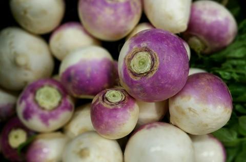 Pound of Purple Top Turnips