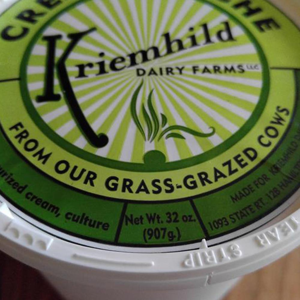Grass-fed Crème Fraiche