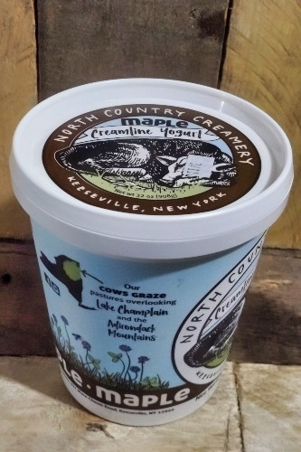 North Country Creamery Maple Yogurt