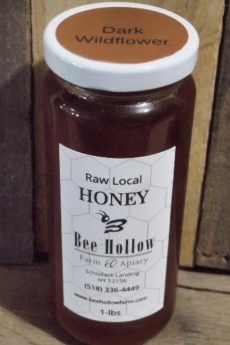 Dark Wildflower Liquid Honey