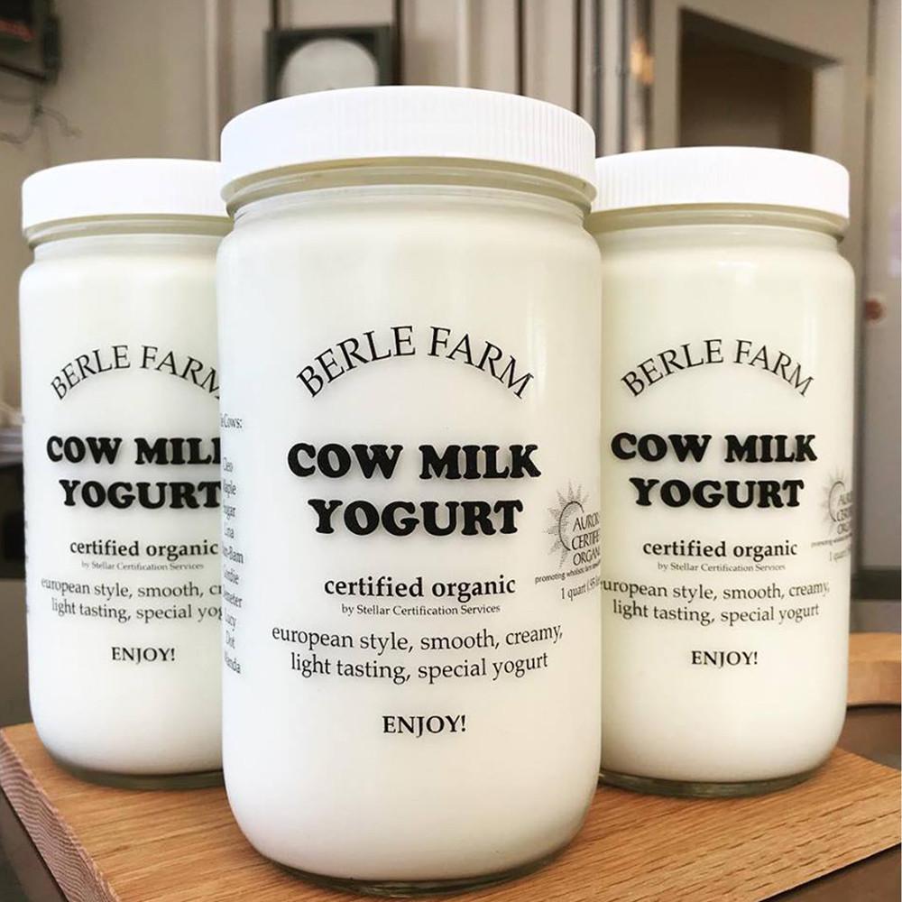 Berle Farm Plain Yogurt