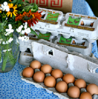 6 dozen Hidden Camp Farm Large Eggs Bundle Pack