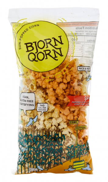 Popcorn Spicy, Bjorn Qorn
