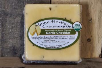 Alpine Heritage Garlic Cheddar