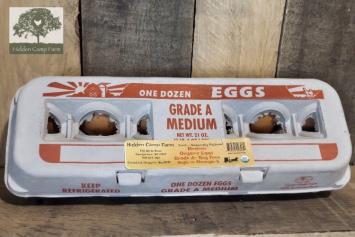 Organic Soy-free Medium Eggs