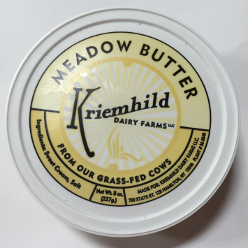 Grass-fed Meadow Butter Salted