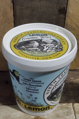 North Country Creamery Lemon Yogurt