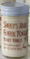 Honey Vanilla Greek Sheep's Yogurt